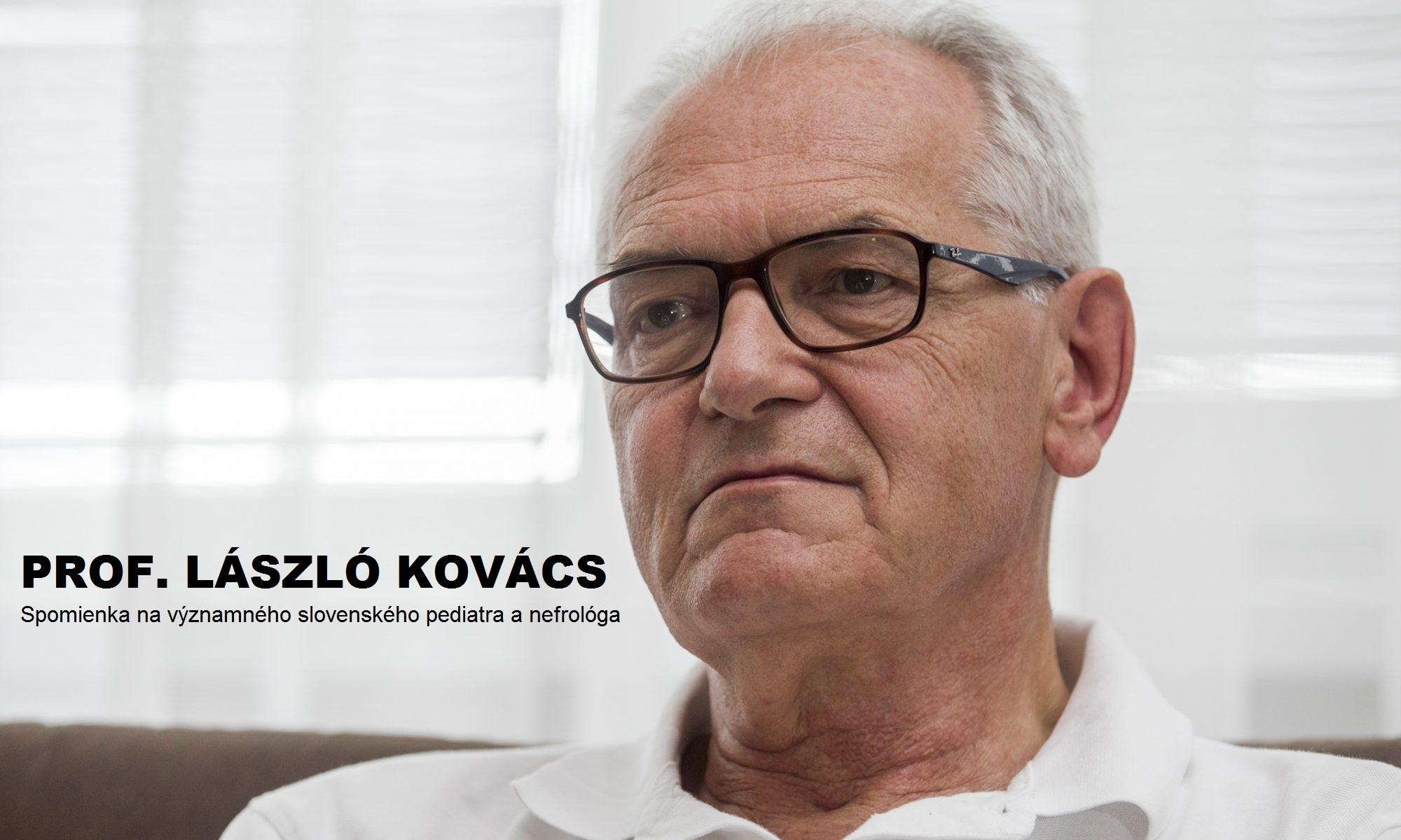 Prof. László Kovács