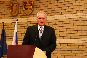 Ďakovná reč Prof. Kovácsa