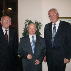 S profesormi Lichardusom a Birčákom, 2010