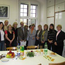 Stretnutie na Ústave hygieny UK, 2008